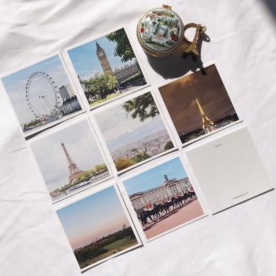 메리필름 런던 파리 유럽 미니 여행 엽서 set(7장)