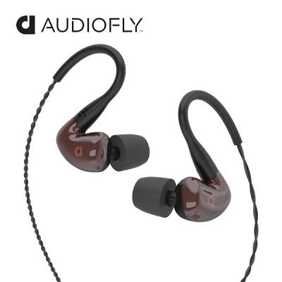[오디오플라이] 커널형 이어폰 인이어 AF160-ResinRed