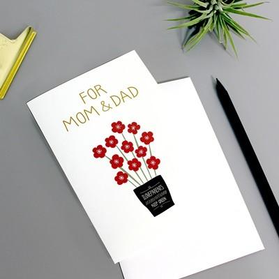 부모님께 드리는 카드-For Mam & Dad