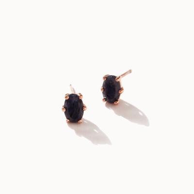 제이로렌 0M01797 12월탄생석 라피스라줄리 귀걸이