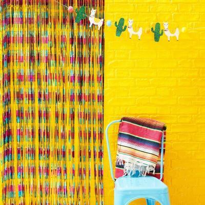 맥시칸 호일 파티커튼 party Curtain Backdrop GR