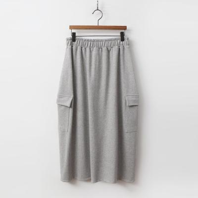 Pocket Easy Long Skirt
