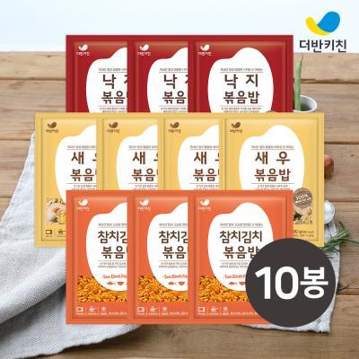 [더반키친] 새우4+낙지3+참치김치3