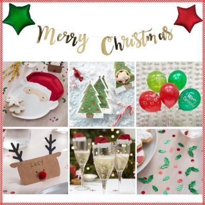 [빛나파티]산타 기본 9종 파티패키지 Santa Package