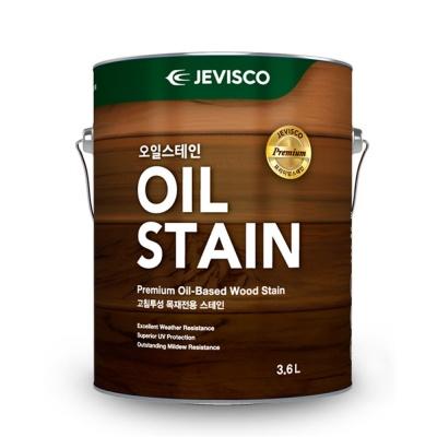 제비스코 오일스테인 3.5L 방부목페인트,목재보호,