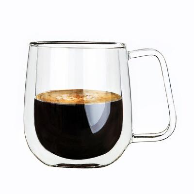 [로하티]클라인 이중 유리컵/ 내열유리 머그컵