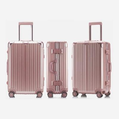 20호 알루미늄 하드캐리어 여행가방 A306 20 핑크