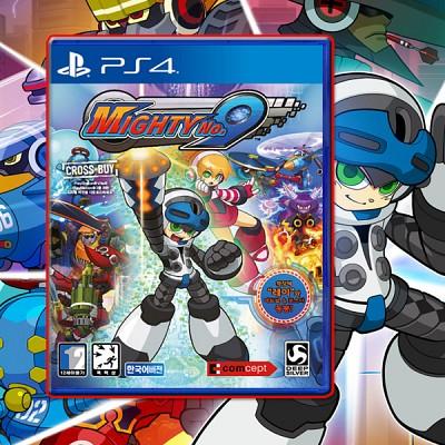 PS4/마이티넘버 나인(Mighty NO.9):한글판