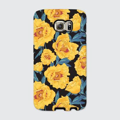 [듀얼케이스] Yellow Flowers-B (갤럭시)