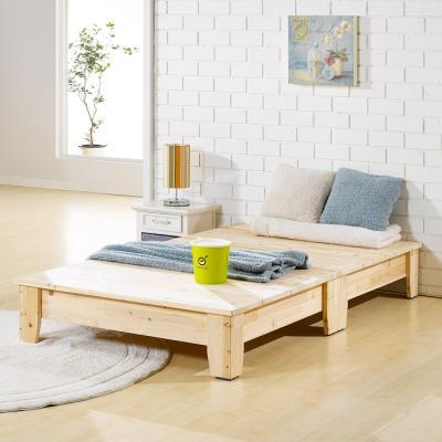[노하우] 예디 삼나무원목 평상형 침대 (슈퍼싱글)