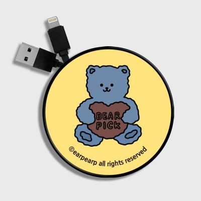 Bear pick-Creamyellow(스마트릴)