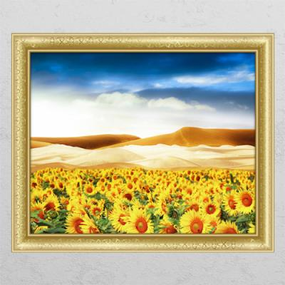 ij972-사막과해바라기_창문그림액자