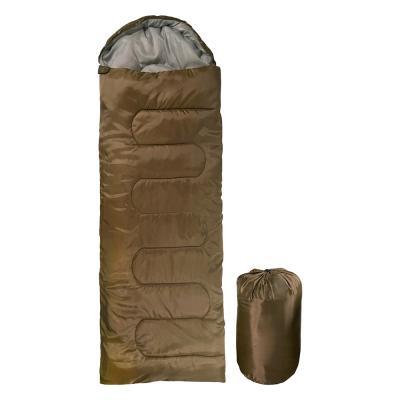 자니 캠핑 사계절 경량 침낭 1800g 브라운 동계 겨울