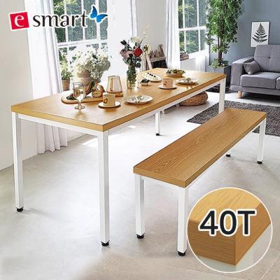 [e스마트] 스틸헤비 테이블 1800*800 (일자다리)