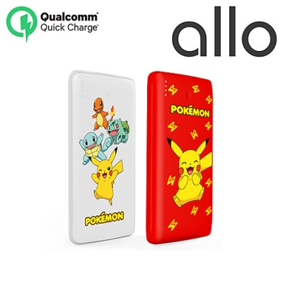 알로x포켓몬 QC3.0 스마트고속충전 1000QCP 보조배터리