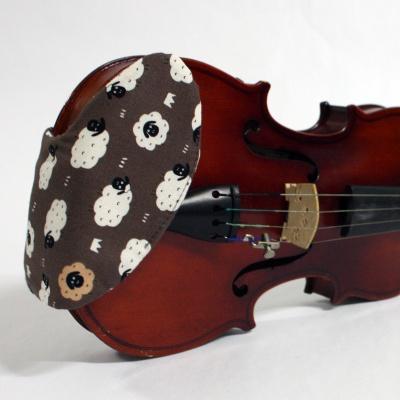 바이올린 핸드메이드 턱받침 커버 V-모델 No37