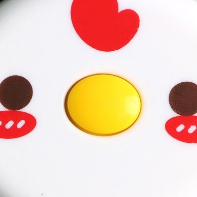 병아리 캐릭터 줄자(150cm) (빨강)