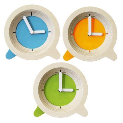 무소음 Watch 45 친환경 자작나무 탁상 시계