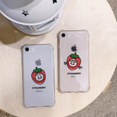 아이폰X/XS Strawberry 방탄케이스