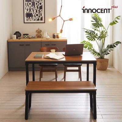 [이노센트] 리브 투게더 4인 LPM 식탁세트(의자/벤치)
