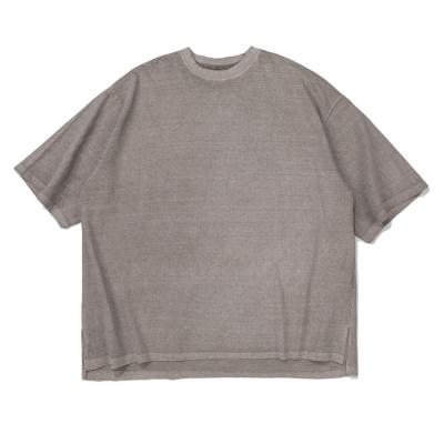 CB 아콘 피크먼트 오버핏 티셔츠 (베이지)