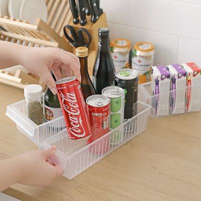 냉장고정리 음료수 식재료 신선보관트레이 SLIM F40