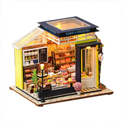DIY 미니어처하우스 디저트 카페