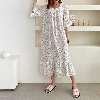 Olive Sleepwear Dress
