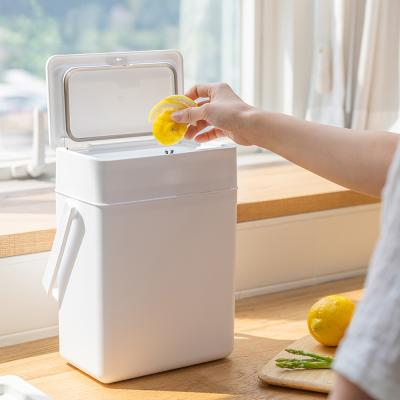 프랑코 모노 원터치 싱크대 음식물 쓰레기통 5L