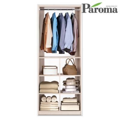 파로마 라라 드레스룸 800 옷걸이 3단 수납장