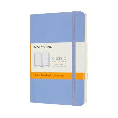 몰스킨 클래식노트-룰드/하이드레인저 블루-소프트 P