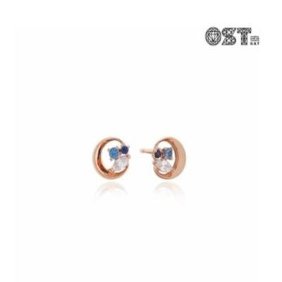 작은 하늘 실버 귀걸이 OTE117602QPL
