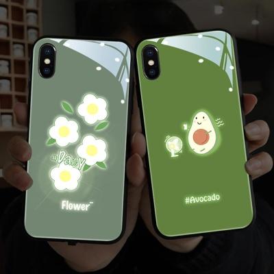 아이폰11 PRO MAX SE2 XR 야광 아보카도 하드 케이스