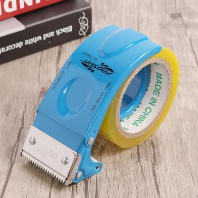 역회전 방지 박스 테이프 커터기(블루)