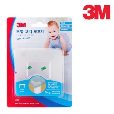 3M 유아안전 코너보호대(투명)
