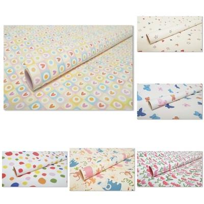 홀마크 패턴 디자인 포장지 6종-1