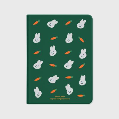 Rabbit carrot-green(아이패드-커버)