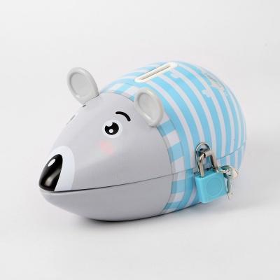 양철 쥐 저금통(스카이)