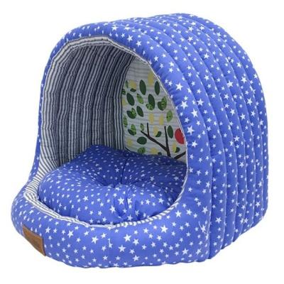 마이리틀 쪼로미 스타하우스(블루) 강아지집 고양이집