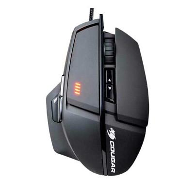 쿠거 게이밍 마우스 COUGAR 600M (8200DIP / 45도 스나이퍼 핫키 / DPI 변환 버튼 / 서브 버튼 / 꼬임 방지 케이블 / OMRON 마이크로 스위치)