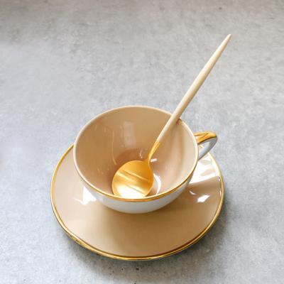 [큐티폴] 고아 아이보리골드 테이블 스푼