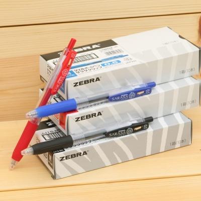 0.5mm 중성펜-제브라 사라사 클립 JJ15 1다스