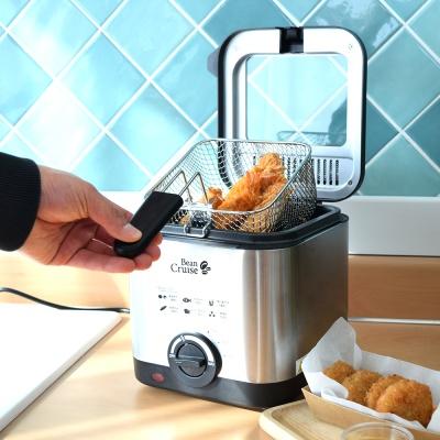 빈크루즈 가정용 미니 전기 튀김기 1.5리터 BCDF-1010