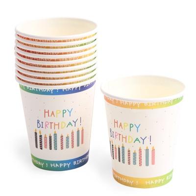 생일 파티컵 (10개입) 캔들