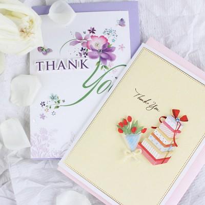 thank you 카드
