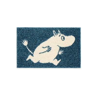 러그 moomin rug running navy