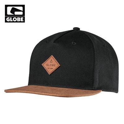 [GLOBE] GLADSTONE SNAPBACK CAP (BLACK)