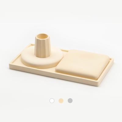 에코앤드 규조토욕실거치대 4p세트(베이지)