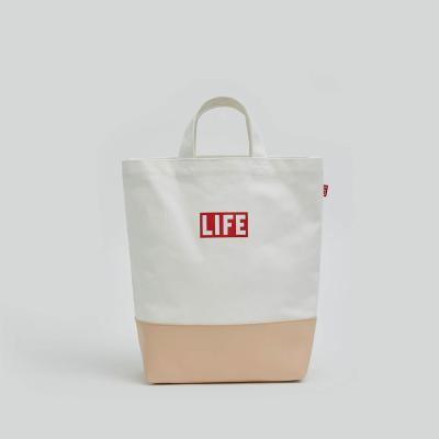 LIFE 2WAY TOTE BAG_BEIGE