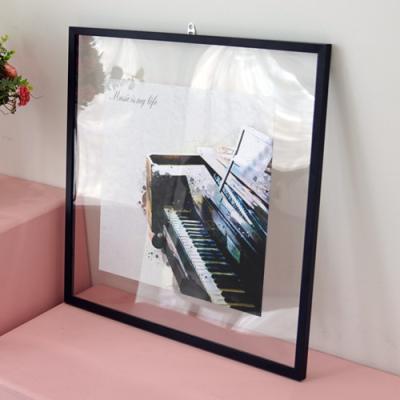 pl236-투명액자56CmX56Cm_수채화악기1(피아노)